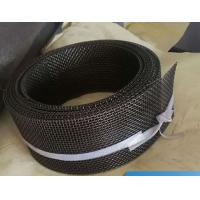 China 12 Mesh Twill Weave FeCrAl Woven Square Wire Mesh Heat Resistance For Infrared Burner on sale