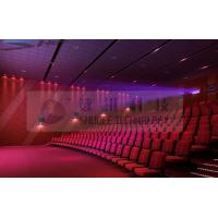 Motion Theater Chair Cinema 3D System With Projectors / Sound System Manufactures