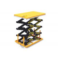Stationary Hydraulic Scissor Lift Platform 5 Ton For Goods Transportation Manufactures