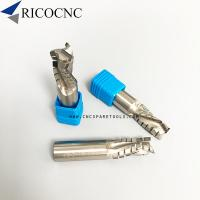 China Woodworking CNC Spiral Diamond PCD Router Bits for CNC Panel Cutting on sale