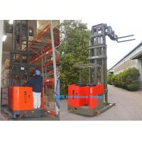 6m Lifting Height Narrow Aisle Forklift Truck With Fork HD Display Non Blind Area Manufactures