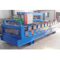 China CE Double Layer Roll Forming Machine , Trapezoidal Sheet Roll Forming Machine on sale