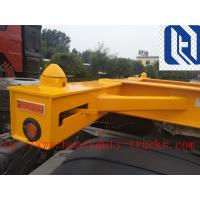 SHMC 3 Axle Semi Trailer Trucks Skeleton Container Trailer 28t Single Speed Q235With GUANGDONG FUWA AXLES Manufactures