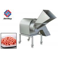 1.5kw 380V 3D Fruit Processing Equipment , Large Tomato Dicer Machine Manufactures