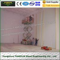 High Airtightness Insulated Sandwich Panels Aluminized For Seafood Cold Room Manufactures