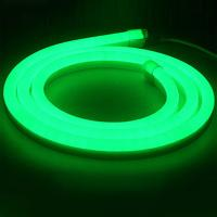 Exterior 120degree Green16x24mm flexible LED Neon strip lights/ LED strip Light Manufactures