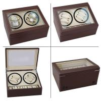 Quality new version 4+6 watch winder black brown red wholesale factory for sale