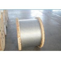 Non - Alloy Galvanized Ground Shield Wire With Hot Dip Galvanizing Vertical Process Manufactures