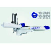 Horizontal Injection Molding Robots , Robotic Arm For Injection Moulding Machine Customized Size Manufactures