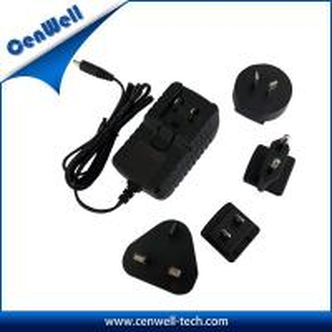 cenwell interchangeable au us uk eu 12v 1a ac adapter australia universal Manufactures