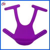 wholesale easy clean silicone baby bibs with FDA High Grade for sale
