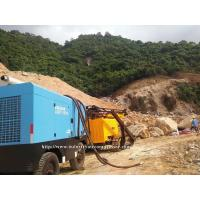 Diesel Engine Driven Portable Screw Air Compressor With Inlet Air Pre Filter Manufactures