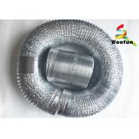 Hydroponic Grow Tent Aluminum Foil Ducting Fire Resistant Stretchable Manufactures