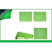 Green Ultra Slim Soft PU Leather Protective Case , Ipad Mini 2 / 5 Cases Manufactures