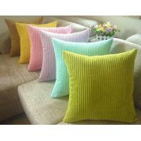 """China Embroidery Corduroy Velvet Sofa Pillows For Chair Bedding, 18"""" X 18"""" Pillow on sale"""