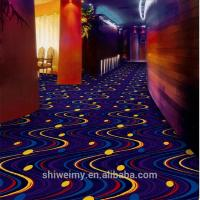 Shanghai starry sky pattern striped wilton carpet for luxury hotel Manufactures