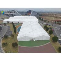 Tennis court Cover Large Indoor Space Sport Tent from syxtent Aluminum frame glass wall hard wedding marquee tent Manufactures