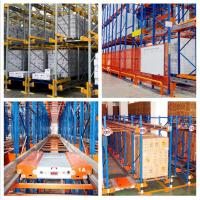 China Bulk Storage Radio Shuttle Racking System Width 1000-3000MM For Food Industry on sale