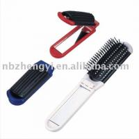 China Massager Hair Brush with Mirror on sale