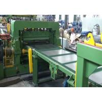 High Speed Steel Coil Cut To Length Line  / Coil Leveler CTL Edge Cutting Manufactures