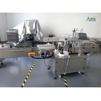 Daily Chemicals Two Side Labeling Machine Side Curved Surface Labeling Manufactures