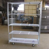 Buy cheap flower dutch carts plant flower display racks mobile danish trolley DC container from wholesalers