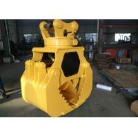 Customized Hydraulic Worm Excavator Rotating Grapple Q345B + Hardox