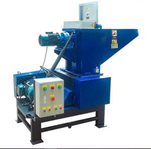 50HP 37KW PE film waste recycling plastic crusher / PVC pipe crushing machine Manufactures