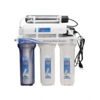 White Color Reverse Osmosis Water Filtration System With UV Filter Cartridge Manufactures