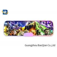 China The Avenger Plastic Pencil Case 3D Effect , Lenticular Image Printing High Definition on sale