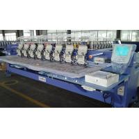 Multi Needle Embroidery Machine , Industrial Monogramming Machine For Bed Sheet