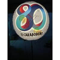 Attractive Inflatable Moving Balloon Digital Printing With RGB Led Light Manufactures