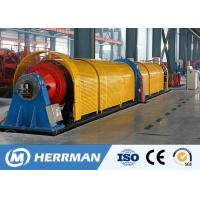 Buy cheap 11~45KW Motor Power Tubular Stranding Machine With Electrical Control System from wholesalers