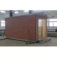 Light Steel structure Holiday Home / Prefabricated Garden Studio For Holiday Living Manufactures