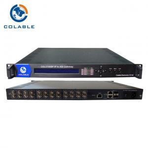 DTV Dvb To Iptv Gateway 12 * ASI Output , Digital TV  IP To ASI Converter Gateway Manufactures