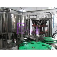High Speed Beverage Juice Can Filling Machine , Automatic Can Sealing Equipment Manufactures