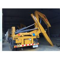 Side Lifter 3 Axles Semi Trailer Truck Lift / Carry 20ft 40ft Container Manufactures
