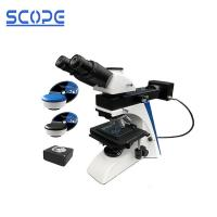 Quality Upright Digital Optical Metallurgical Microscope With Camera Trinocular for sale
