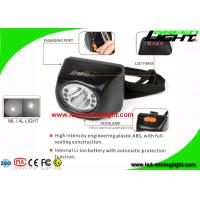 4.5Ah Digital Mining Cap Light Head Lamp IP67 With 18 Hours Lighting Working Time Manufactures
