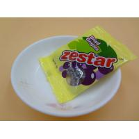 Candied Fruit Tasty Dried Sour Plums / Salted Plums For Young Girls Yellow Bag Manufactures