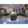 Buy cheap Custom High- End Gray Wood Plus Veneer  Jewellery Store Fixture from wholesalers