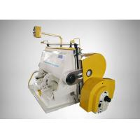 Small Size Die Cutting Creasing Machine Fast Cutting Speed For Packing Industry Manufactures