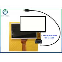 G + G Structure 7 Inch Capacitive Touch Screen With USB Interface For Innolux AT070TN92 Manufactures