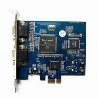 8-channel PCI-E DVR Card Support 8-chanel D1 Real Time Recording Manufactures