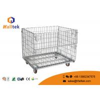 China Heat Resistant Wire Mesh Storage Cages Wire Mesh Security Cage With Wheels on sale