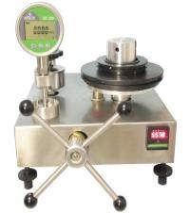 China Pressure gauge calibrator Pressure sensor calibration kit 0.1~60MPa on sale