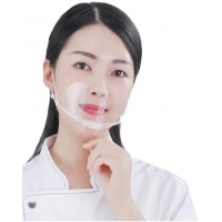 Anti Fog Transparent Mouth Cover For Hotel Kitchen Manufactures