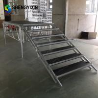 China Portable outdoor event stage /Folding Iron,Aluminum stage, for large outdoor event, antiskid deck, whether-proof on sale