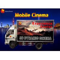 China Simple Dynamic Bubble Lighting Wind Mobile 5D Cinema Truck 2.25KW 220V on sale