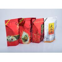 Food Grade PE Liner Flexible Packaging Stand Up Pouch Bags For Solid / Liquid Foods Manufactures